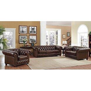 Worcester 3 Piece Living Room Set ByTrent Austin Design
