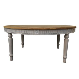 Drapeau Solid Wood Round Solid Wood Dining Table