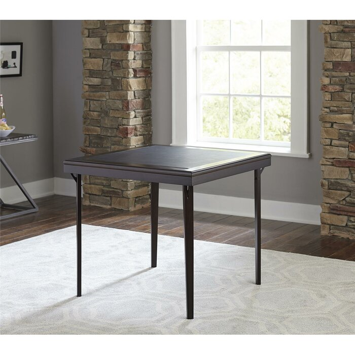 Cosco 32 Square Folding Table With Vinyl Inset