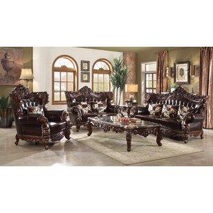 Keagan Configurable Living Room Set by Astoria Grand