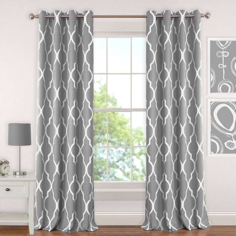 half nicetown window home for tier darkening panel room item insulated grommet curtain in garden thermal blackout on valance from kitchen treatment energy curtains smart