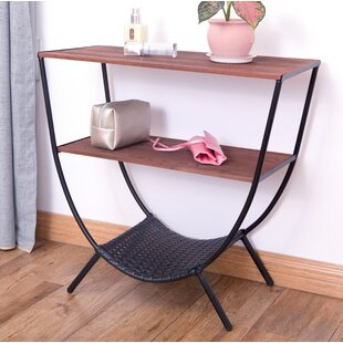 Stamper Console Table with 3 Shelves ByWilliston Forge