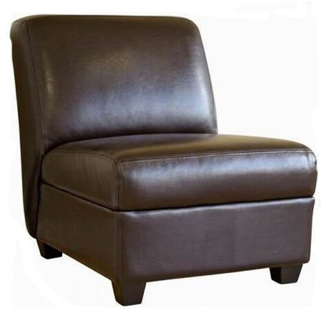 Ingalls Leather Slipper Chair