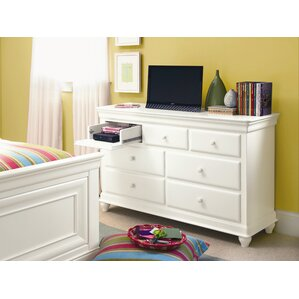 Chassidy 7 Drawer Wood Dresser