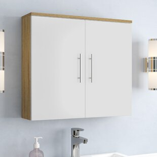 Review Salona 70 X 68cm Wall Mounted Cabinet