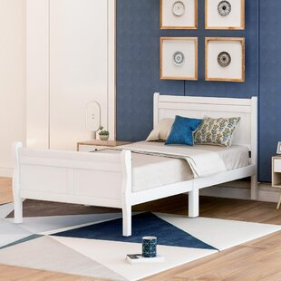 Annley Solid Wood Low Profile Platform Bed by Red Barrel Studio