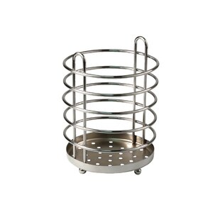 PantryWorks Pantryware Grande Utensil Holder in Chrome