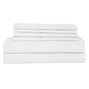 Perthshire Platinum 6 Piece 410 Thread Count Egyptian Quality Cotton Sheet Set