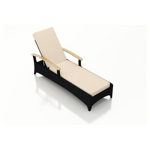 Arbor Chaise Lounge with Cushion By Harmonia Living