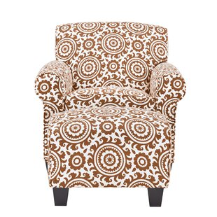 Latitude Run Clarke Armchair and Ottoman