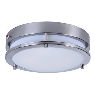 Rhonda 1-Light Flush Mount by Latitude Run