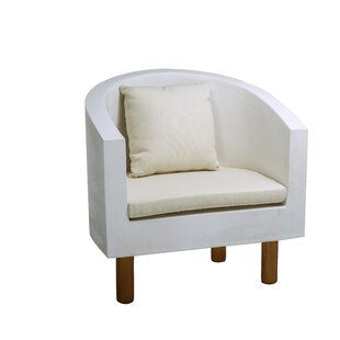 Jervis Garden Chair With Cushion By Ebern Designs