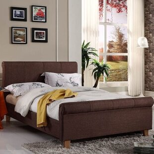 Upholstered Sleigh Bed By Marlow Home Co.