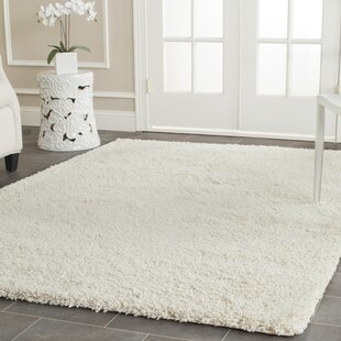 Ce Handmade And Flokati Ivory Area Rug