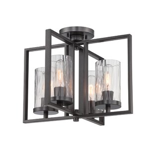 Kuhle 4-Light Semi Flush M..