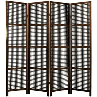 Bay Isle Home Stoehr Shoji 4 Panel Room Divider