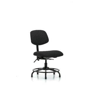 Symple Stuff Niamh Round Tube Base Desk Height Ergonomic Office Chair