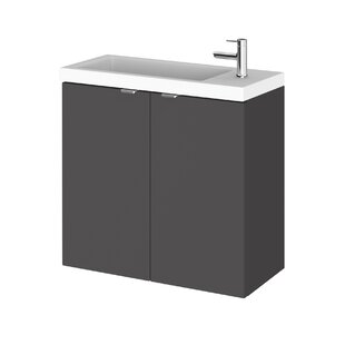 Fusion Combinations 605mm Wall Mount Vanity Unit By Hudson Reed