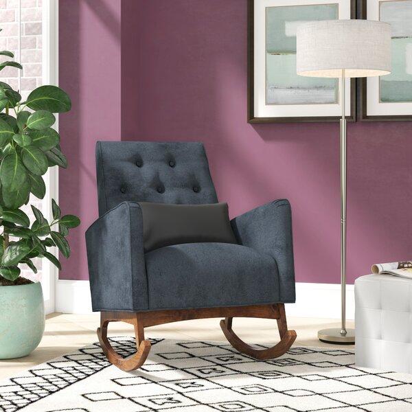 Small Upholstered Rocker Wayfair