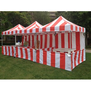 Impact Instant Canopy Carnival 8 Ft. W x 8 Ft. D Steel Canopy