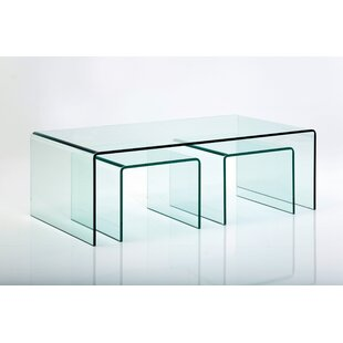 Club 3 Piece Coffee Table Set By KARE Design