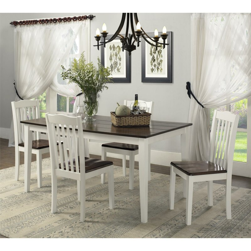 5 Piece Dining Sets august grove dawson 5 piece dining set & reviews | wayfair