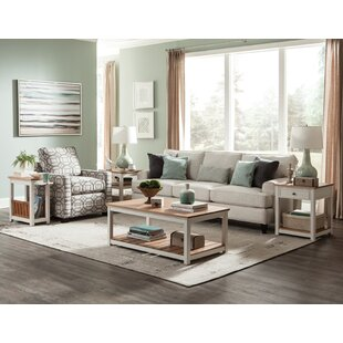 Gilmore 3 Piece Coffee Table Set By Rosecliff Heights