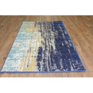 Victorine Yellow/Blue Indoor/Outdoor Area Rug