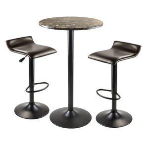 Varnum 3 Piece Pub Table Set by Red Barrel Studio