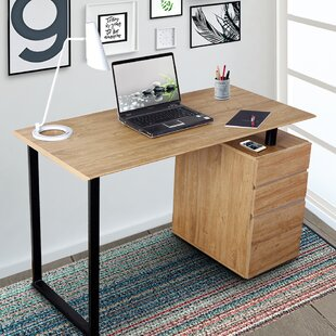 3 Drawer Computer Desk by Techni Mobili Herry Up