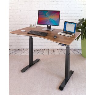 Airlift� S3 Electric Height-Adjustable Standing Desk by Seville Classics