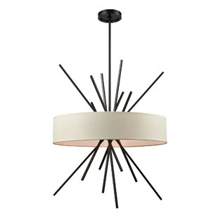 Mercury Row Timmons 5-Light Drum Pendant