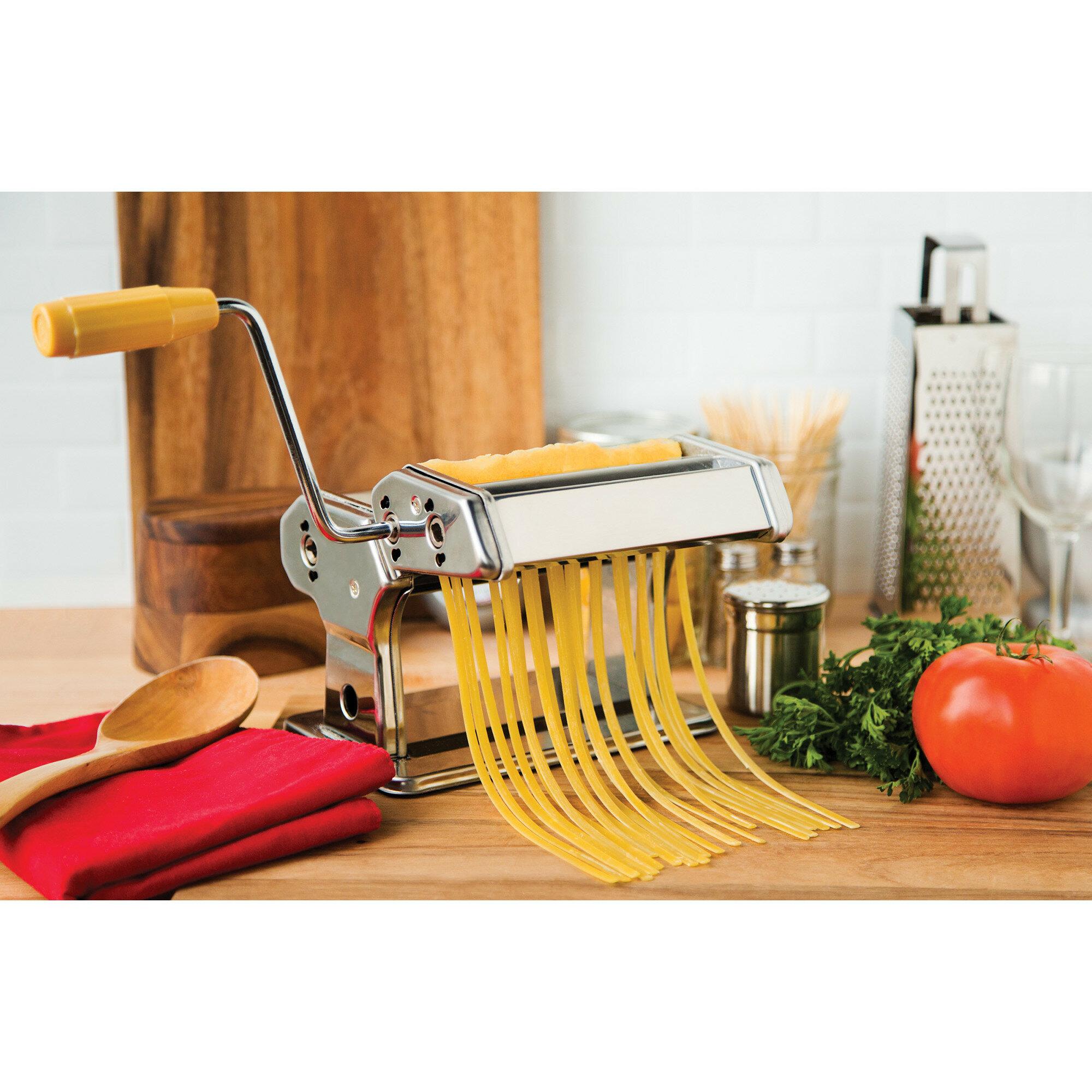 Fox Run Brands Manual Pasta Maker With 1 Attachment Reviews Wayfair