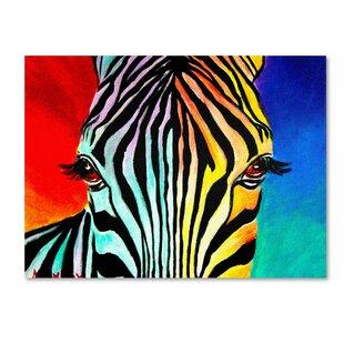 Zebra Green Eye Animal Photography Decorative Art Poster Print 16 by 20