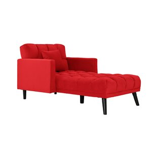 Red Chaise Lounge Chairs Youu0027ll Love | Wayfair