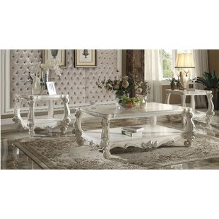Astoria Grand Maio Versailles 2 Piece Coffee Table Set