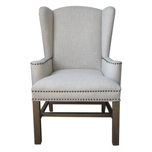 Neve Wing Back Chair by One Allium Way