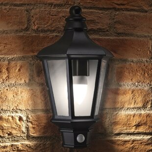 Gabrielson LED Outdoor Wall Lantern With Motion Sensor By Sol 72 Outdoor