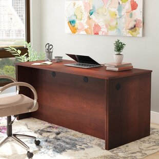 Karyn Industrial Desk Shell by Latitude Run #1