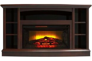 Devan TV Stand for TVs up to 60 with Electric Fireplace by Alcott Hill