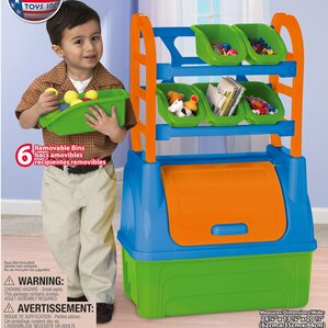 Toy Organizer By American Plastic Toys