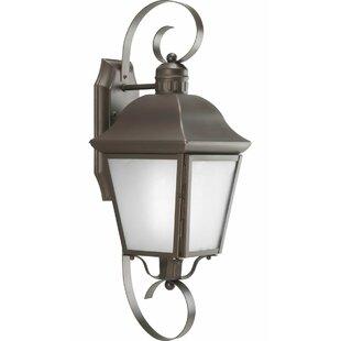 Deals Thornton 1 Light Outdoor Wall Lantern By Alcott Hill