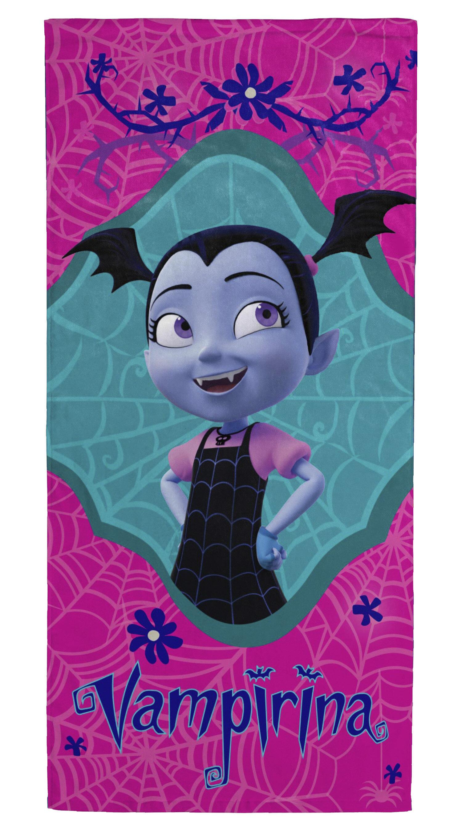 Disney Vampirina 100 Cotton Beach Towel Wayfair