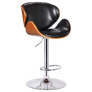 Osa Adjustable Height Swivel Bar Stool