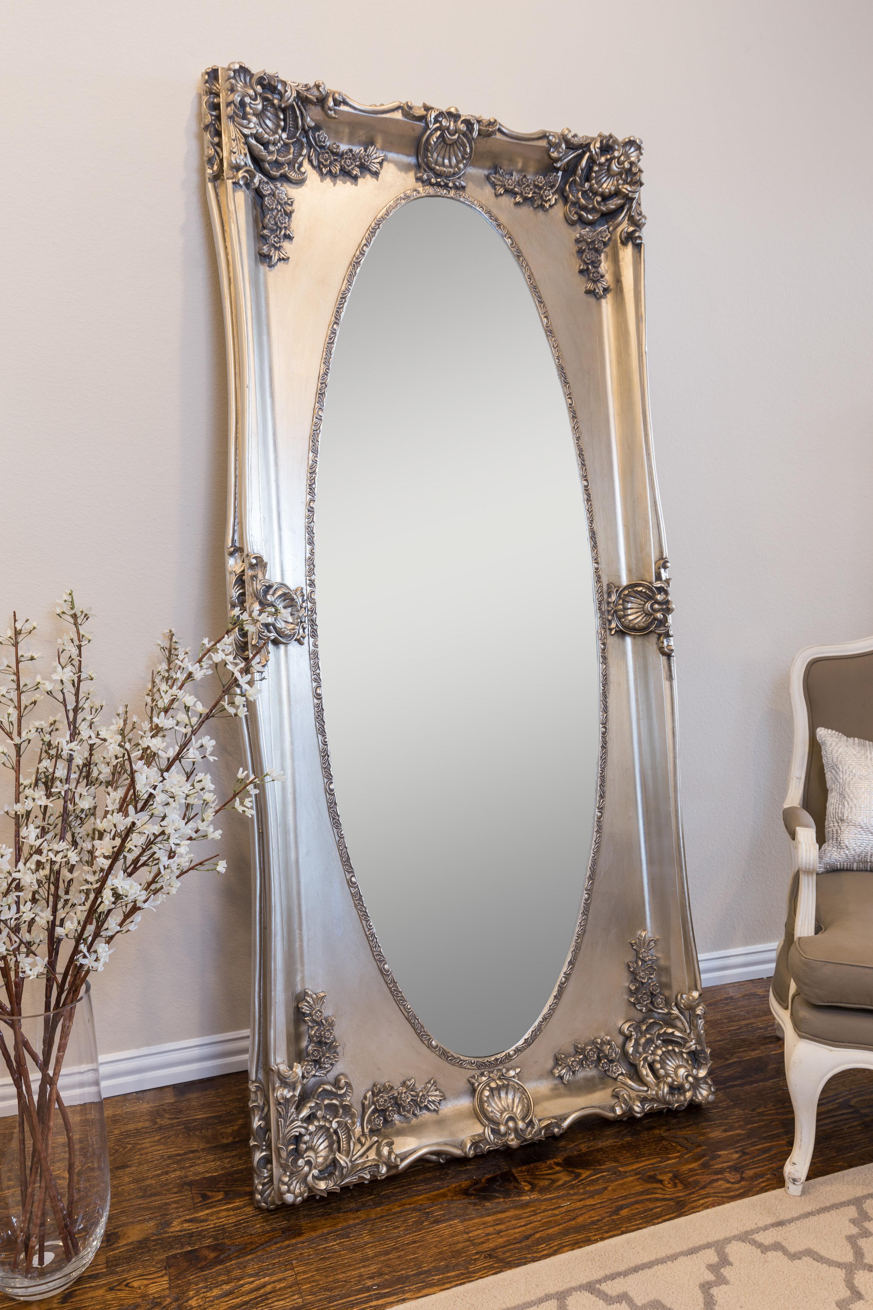 Astoria Grand Bardwell Leaner Traditional Full Length Mirror