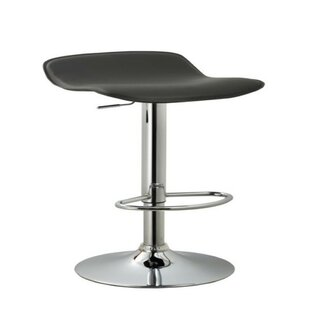 Stallard Adjustable Height Swivel Bar Stool Orren Ellis