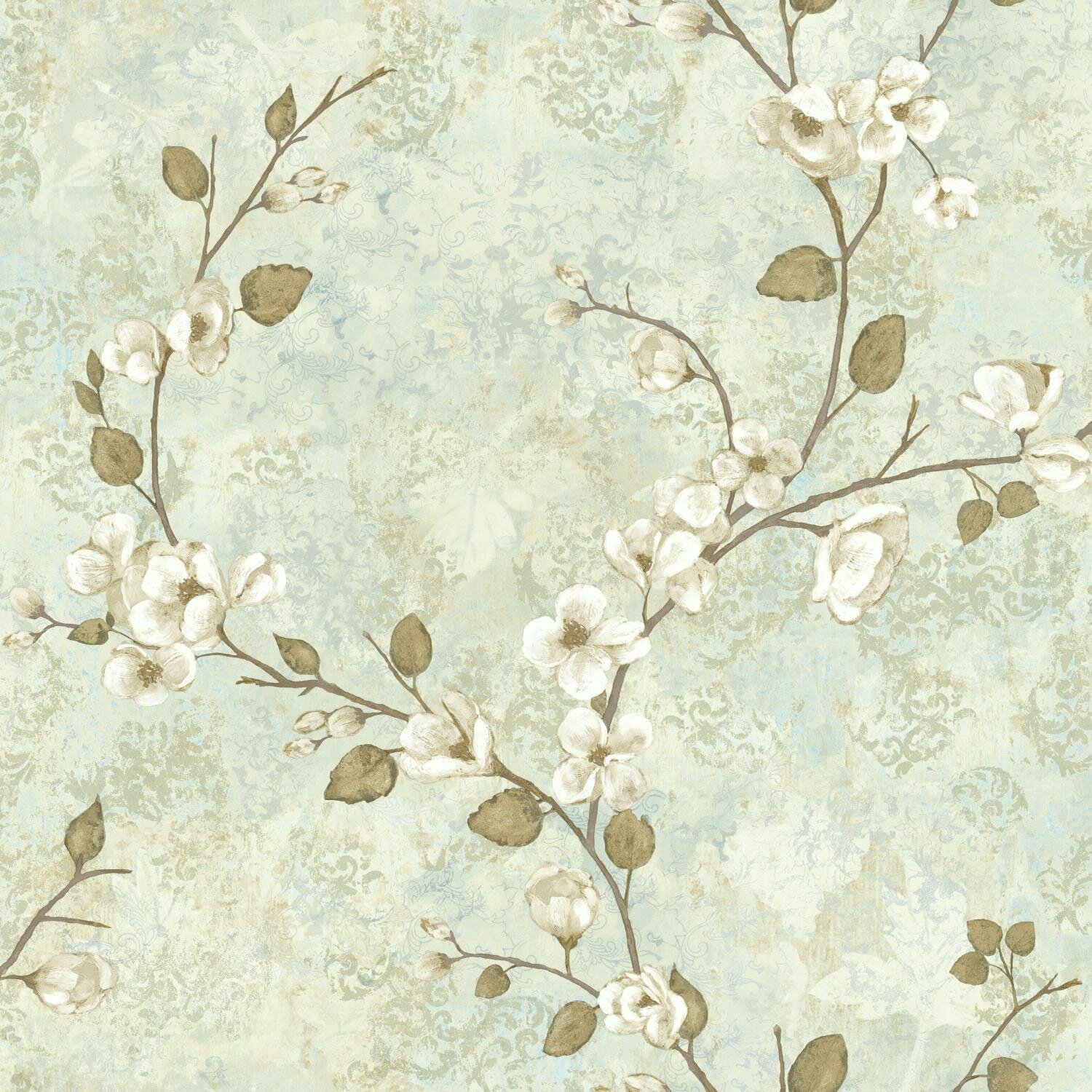 Ophelia Co Hiltz 33 X 20 5 Dogwood Floral Wallpaper Roll