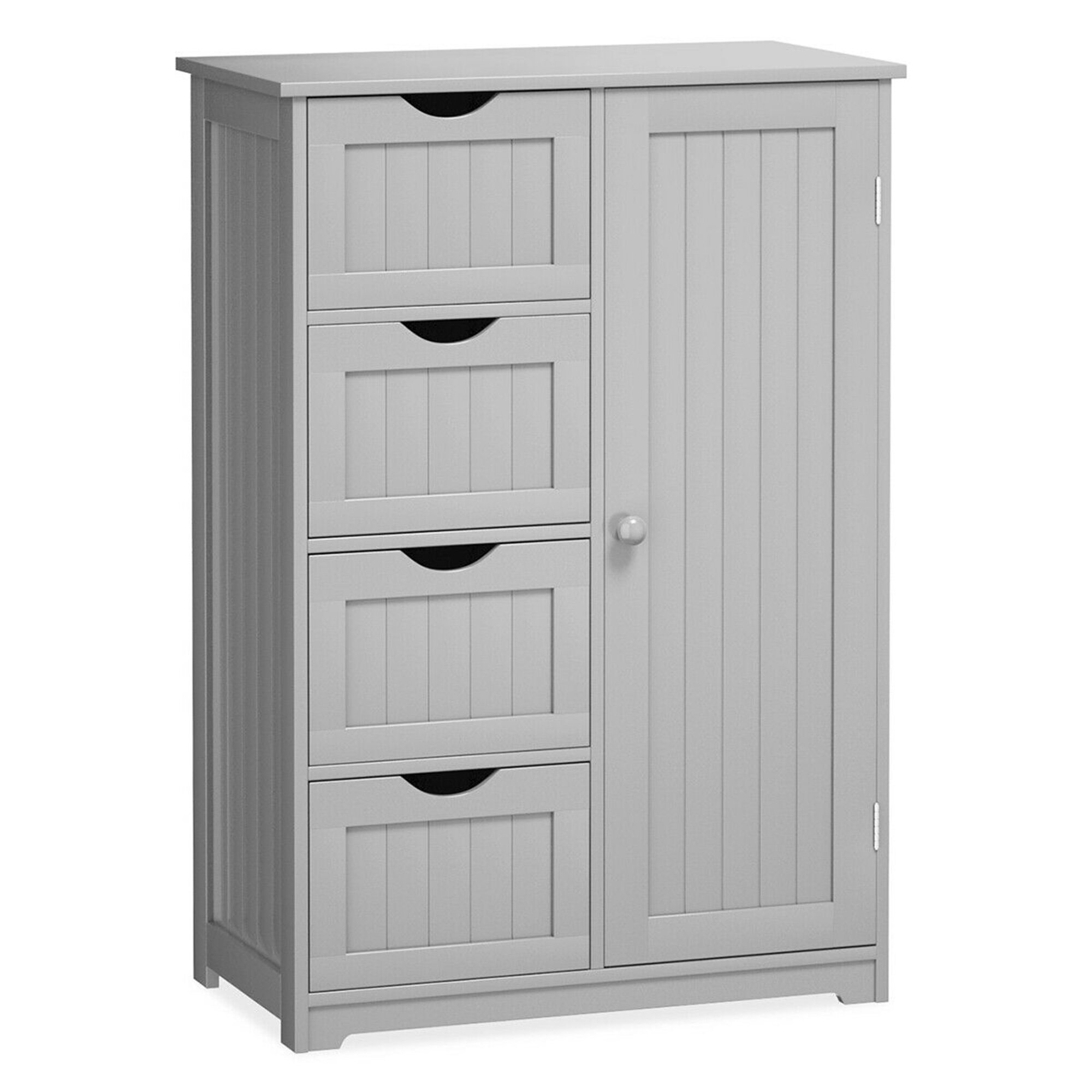 Picture of: Sturdivant 22 W X 32 H X 12 D Free Standing Bathroom Cabinet Reviews Birch Lane