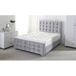 Review Karissa Upholstered Sleigh Bed