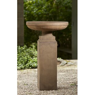 Darby Home Co Delpha Urn Tall Square Ped P-367 and PD-154